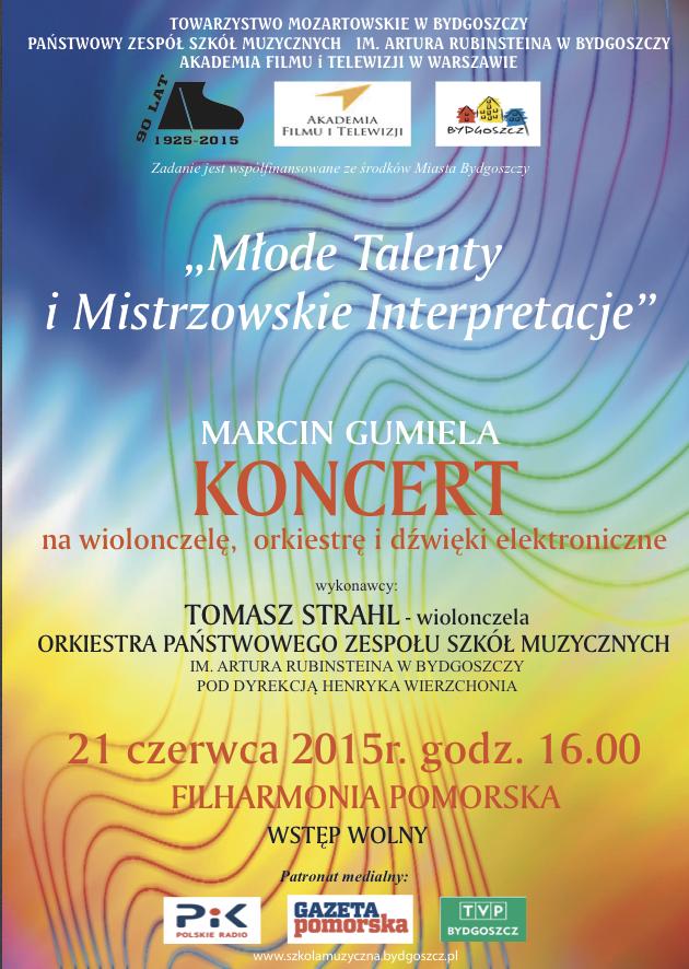 Plakat wiolonczelowy 21.06.2015